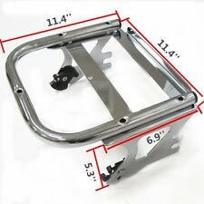 Detachable Two-up Tour Pak Pack Mounting Luggage Rack For Harley 97-08 Road King