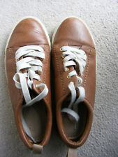 Clarks Womens Shoes Uk 4 (Eu 37) Brand New Ladies Girls Leather RRP £65 Brown