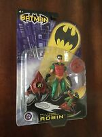 "BATMAN COLLECTION ROBIN 7"" DC COMICS ACTION FIGURE MATTEL"