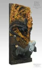 Sideshow Weta Gandalf And Balrog 'You Shall Not Pass' Wall Plaque New