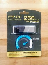 PNY Turbo 256GB USB Flash Drive (NEW) Sealed In Packaging
