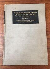 LIVRE DE PHOTOGRAPHIE AERIENNE THE FACE OF THE EARTH WILLIS T. LEE 1922