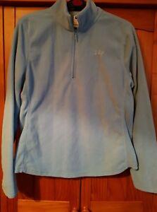 Ladies Blue GAP Fleece Hoodie Jumper Size M 12