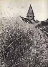 "Rémy Duval - Paysage de France - Photogravure in  "" AMG 1937 """
