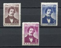 26895) ALBANIEN 1958 MNH N. Veqilharxhi 3v
