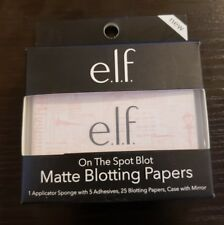 e.l.f. On The Spot Blot Mattifying Blotting Papers With Case & Mirror 25 Papers