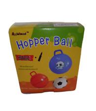Apple Round Hopper Ball with Air Pump: 20 inch (50 cm) Diameter, Hop Ball Red