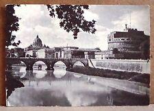 Roma - Castel S.Angelo [grande, b/n, viaggiata]