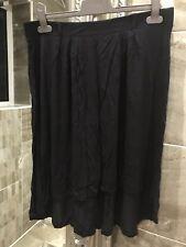 Knee Length Loose Skirt - Size 12