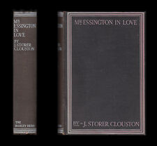 J. Storer Clouston MR ESSINGTON IN LOVE The Lunatic at Large Series 1927 1st Ed.