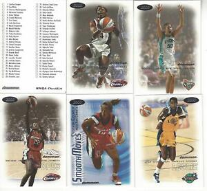 2000 WNBA FLEER DOMINION BASKETBALL 156 CARD BASE SET *MINT* LESLIE, COOPER ++