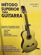 Metodo Superior Para Guitarra Vol 2 Learn To Play Guitar Book In Spanish