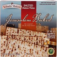 Yehuda Salted Matzo Thins, 10.5 OZ
