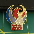 ROYAL ORDER OF JESTERS lapel pin, Phoenix Arizona, ROJ court 17, colorful 1989