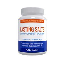 Fasting Capsules Pure Electrolytes: Sodium, Potassium, Magnesium. 120 capsules