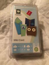 CRICUT  SHAPE CARTRIDGE - Wild Card - Cartridge  29-0591 Retired 2011