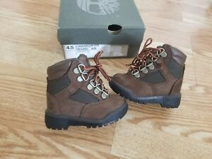 """Timberland Field Boot """" Beef and Broccoli """" TB044892 Brown/Green Size 4.5c"""
