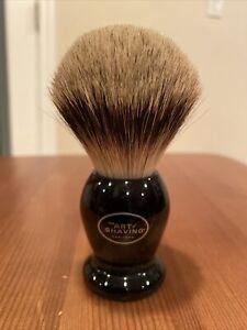 The Art of Shaving Handcrafted 100% Fine  Badger Shaving Brush - Black A