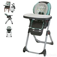 Graco Duo Diner LX Highchair, Adjustable Convertible Baby High Chair, Groove New