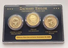 2009 ZACHARY TAYLOR PRESIDENTIAL COIN SET FREE SHIPPING