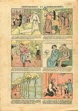 Gaule Druide Moines Révolution Française Inondations France 1925 ILLUSTRATION