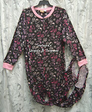 SNOOPY BEAGLE DOG MICRO FLEECE ADULT ONE PIECE ONESY FOOTED FOOTIE PAJAMAS~L~~