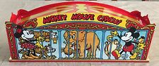 Pride Lines Standard Gauge Mickey Mouse Circus Train 3 Car Set. New Old Stock