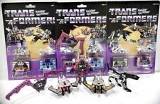 New Transformers G1 Decepticons cassette ratbat frenzy  ravage rumble reissue
