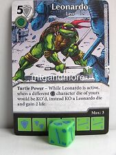 Dice Masters - #026 Leonardo Leo - Teenage Mutant Ninja Turtles