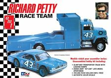 AMT 1/25 Richard Petty Race Team Dodge Dart Sportman Hauler PLASTIC KIT 1072