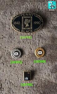 Briefmarken, BUND DEUTSCHER PHILATELISTEN - BDPh Abzeichen Pins AUSSUCHEN