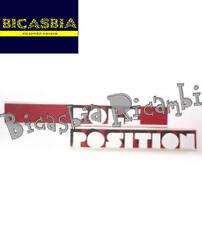 7847 - TARGHETTA ADESIVO POLE POSITION VESPA 125 PX T5