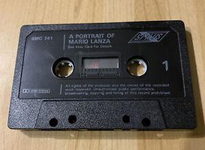 A Portrait of Mario Lanza compilation Cassette Tape