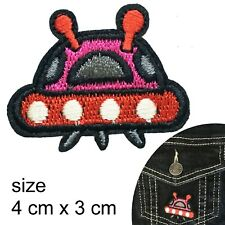 UFO iron on patch Alien unidentified flying object mars space planet patches
