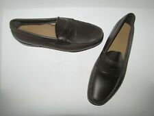 NWOB Weejuns by Bass 'Wilton' Brown Handcrafted Penny Loafers - 11EE Euro. 45
