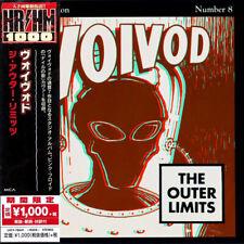 VOIVOD - THE OUTER LIMITS, CD REISSUE 2018 UNIVERSAL JAPAN +OBI, THRASH NEW