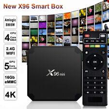 Android 7 WiFi HD Player+Remote X96 2GB/16G Amlogic S905W Mini TV Box Quad Core