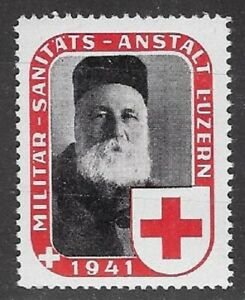 Switzerland Soldier stamp: San/Medical Unit, SAN #5: M.S.A. Luzerne- sw199e