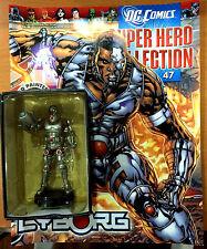 Dc Comics Super Hero Collection Issue #47 Cyborg - Eaglemoss Figurine Magazine