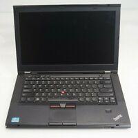 "Lenovo T430s ThinkPad 14"" Intel i7-3250M 2.9GHz 4GB DDR3 WIN8COA Fair No BATT"