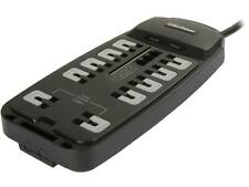 CyberPower 10 Outlets 2850 Joules 8 Feet Cord Surge Protector P1008T