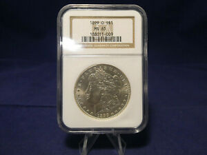 1899 Morgan Silver Dollar NGC MS65