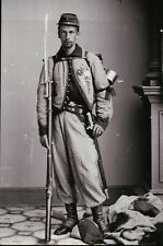 Francis Edwin Brownell, Zouave Soldier, American Civil War, Military -- Postcard