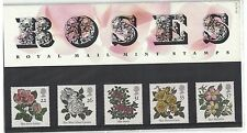 Great Britain 1382 - 1386 - Roses. Presentation Pack Of 5 Mnh Og. #02 Gb1382s