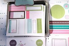 Stampin Up Accents & Elements Sweet Nothings, 2006, Die Cut Self Stick Kit, NIP
