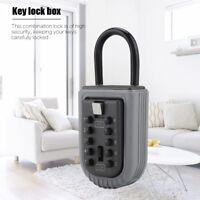 10 Digit Lockbox Key Lock Box for Realtor Real Estate Safe Hook Organize Storage