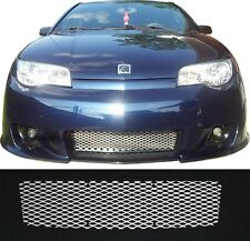 CCG MESH GRILL INSERT FOR 04-07 SATURN ION REDLINE GRILLE DIAMOND XXL FLAT