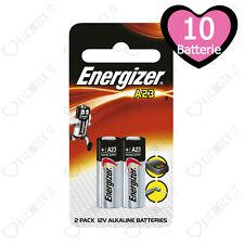 10 Pz. Batterie Specialistiche E23A MN21 Energizer A23 12 V