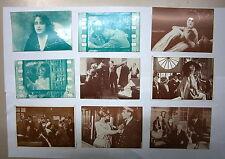 Lotto 9 Cartoline # CINEMA FILM ANNI '20 # Cartolina - Non viaggiate