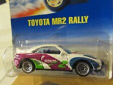 Hot Wheels Toyota MR2 Rally #233 White